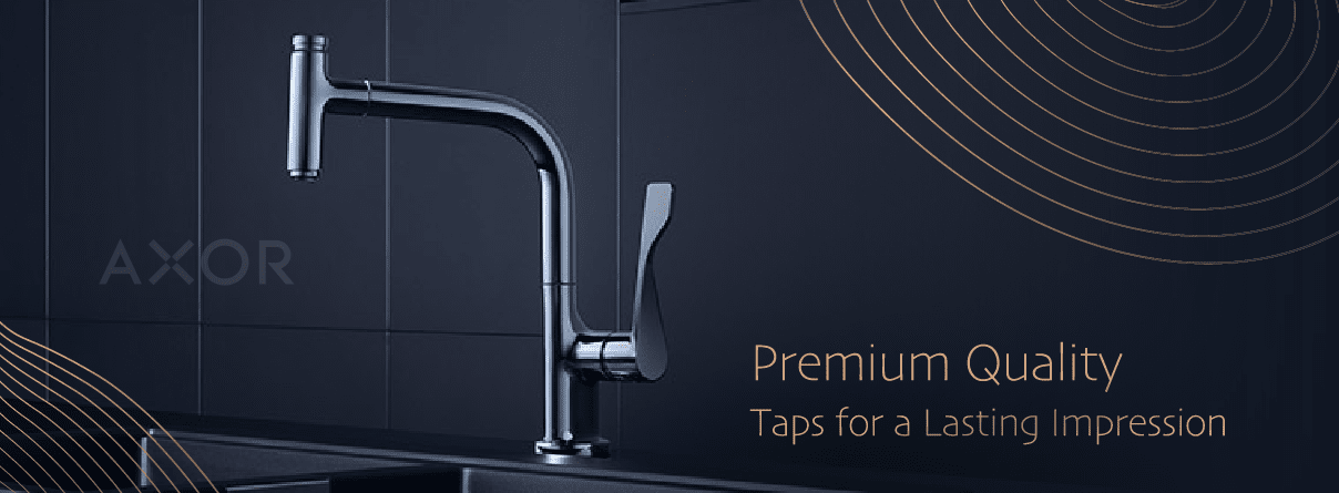 1-Hole Basin Taps from AXOR at xTWO