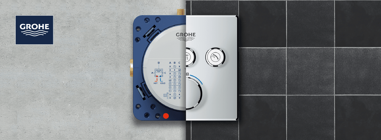 GROHE Rapido SmartBox at xTWO