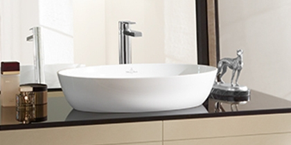 V&B Artis washbasin oval
