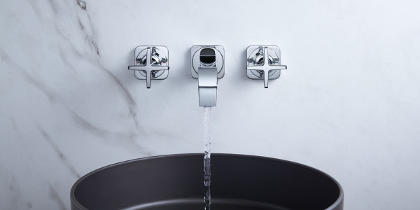 Axor Citterio E washbasin faucet wall-mounted