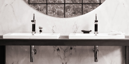 Axor Citterio washbasin faucet standing-mounted Standmontage